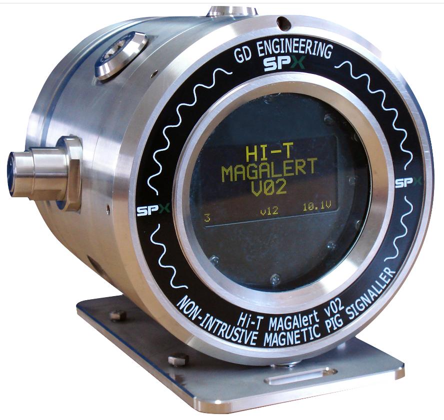 Non-intrusive Pig Signaller – Hi-T MagAlert